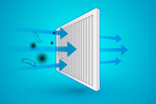 Werking van het HEPA filter