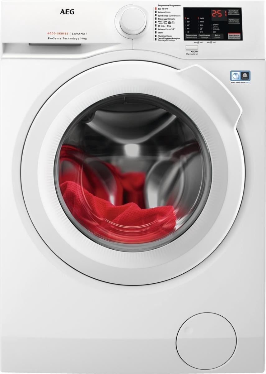 AEG L6FBI94BW - ProSense - Wasmachine - NL/FR