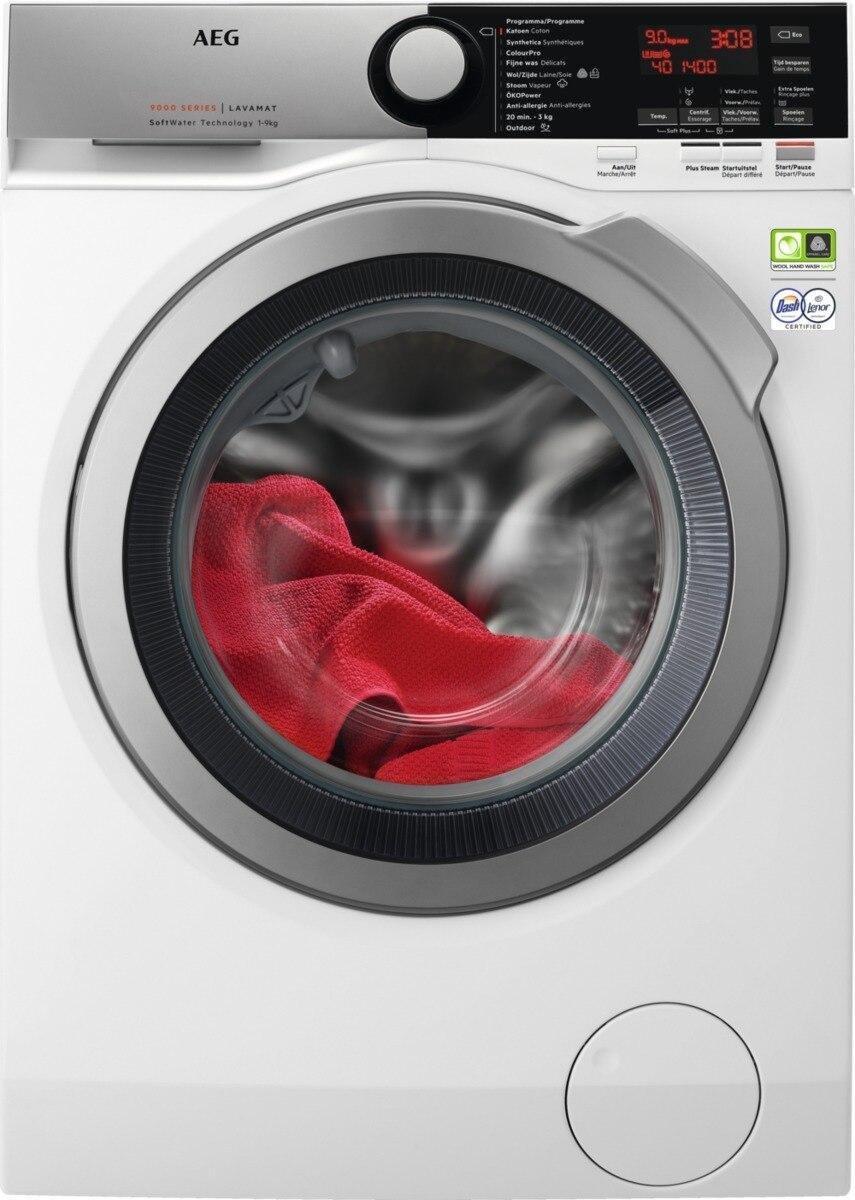 AEG L9FEE96S - 9000 serie - SoftWater - Wasmachine - NL/FR