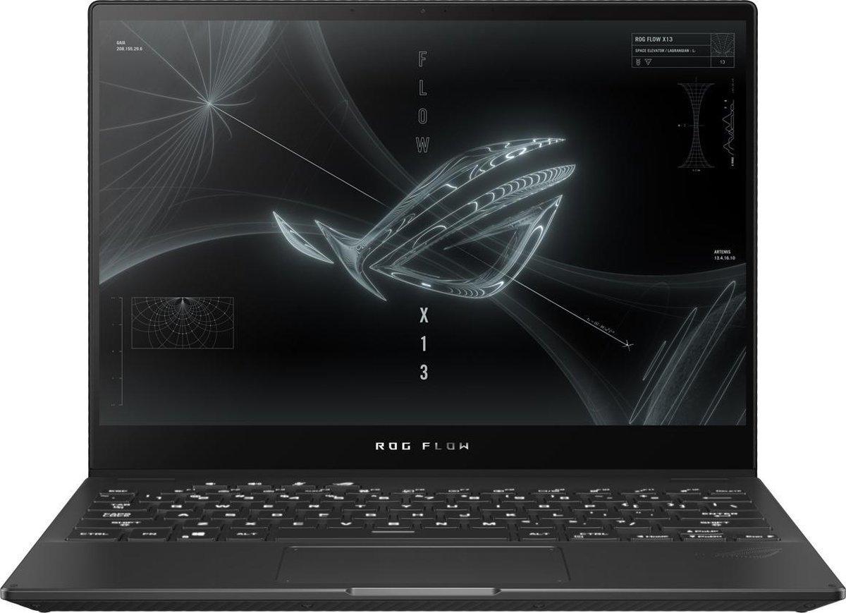 "ASUS ROG GV301QH-K5232T-BE Hybride (2-in-1) 34 cm (13.4"") Touchscreen WQUXGA AMD Ryzen 9 32 GB LPDDR4x-SDRAM 1000 GB SSD NVIDIA® GeForce® GTX 1650 Wi-Fi 6 (802.11ax) Windows 10 Home Zwart"