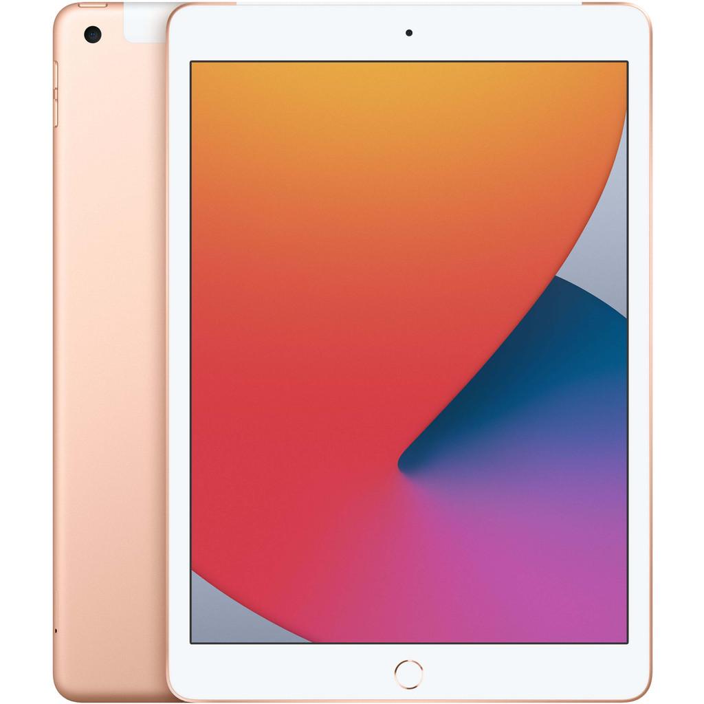 Apple iPad (2020) 10.2 inch 128 GB Wifi + 4G Goud