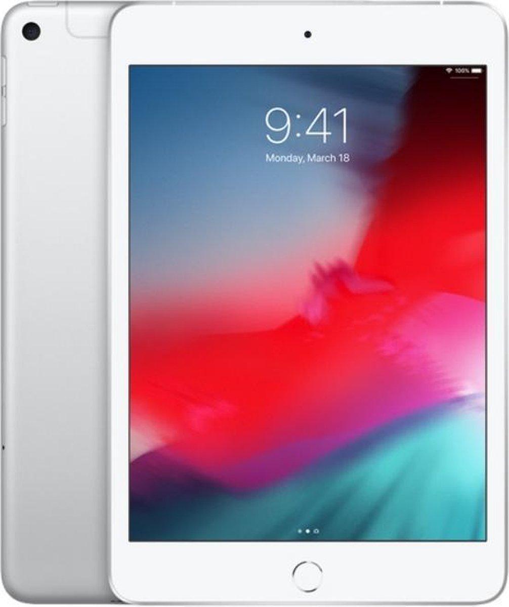 Apple iPad Mini (2019) - 7.9 inch - WiFi + 4G - 256GB - Zilver
