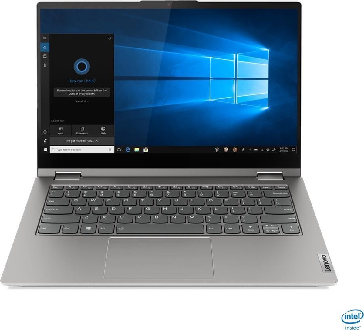 "Lenovo ThinkBook 14s Yoga Hybride (2-in-1) 35,6 cm (14"") 1920 x 1080 Pixels Touchscreen Intel® 11de generatie Core™ i5 8 GB DDR4-SDRAM 256 GB SSD Wi-Fi 6 (802.11ax) Windows 10 Pro Grijs"