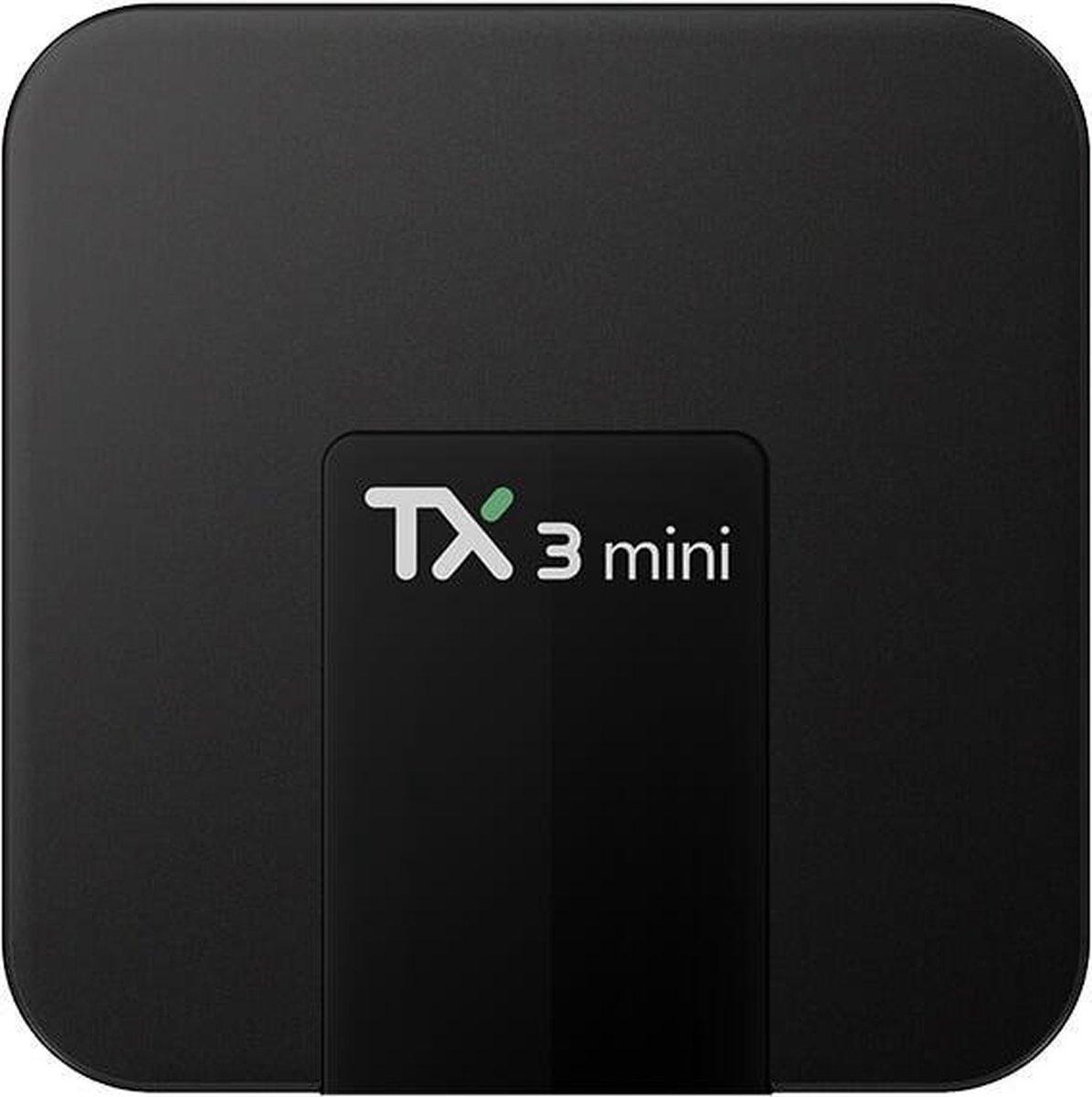 Lipa TX3 mini mediaplayer Android 7.1 - 16 GB / 2GB RAM - Kodi 18.3