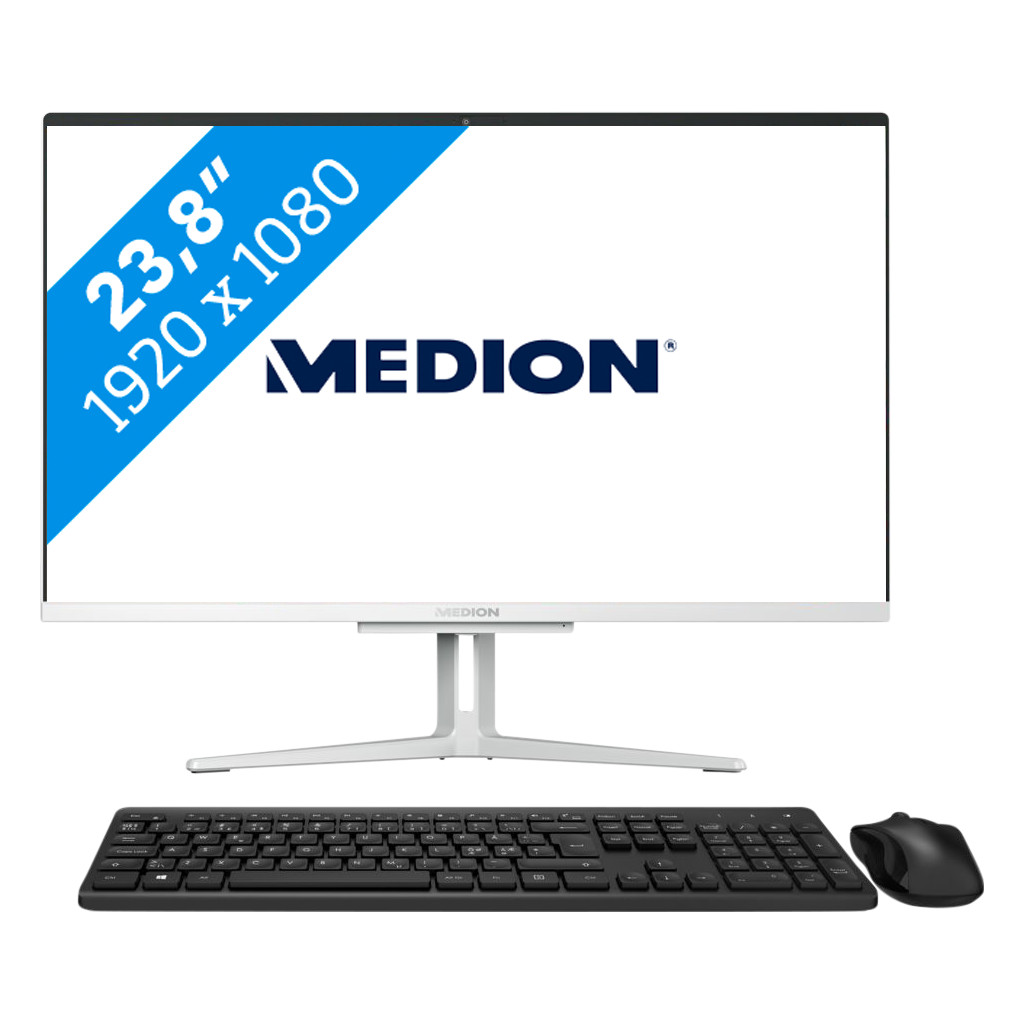 Medion E23403-I3-256F8 All-in-one Azerty