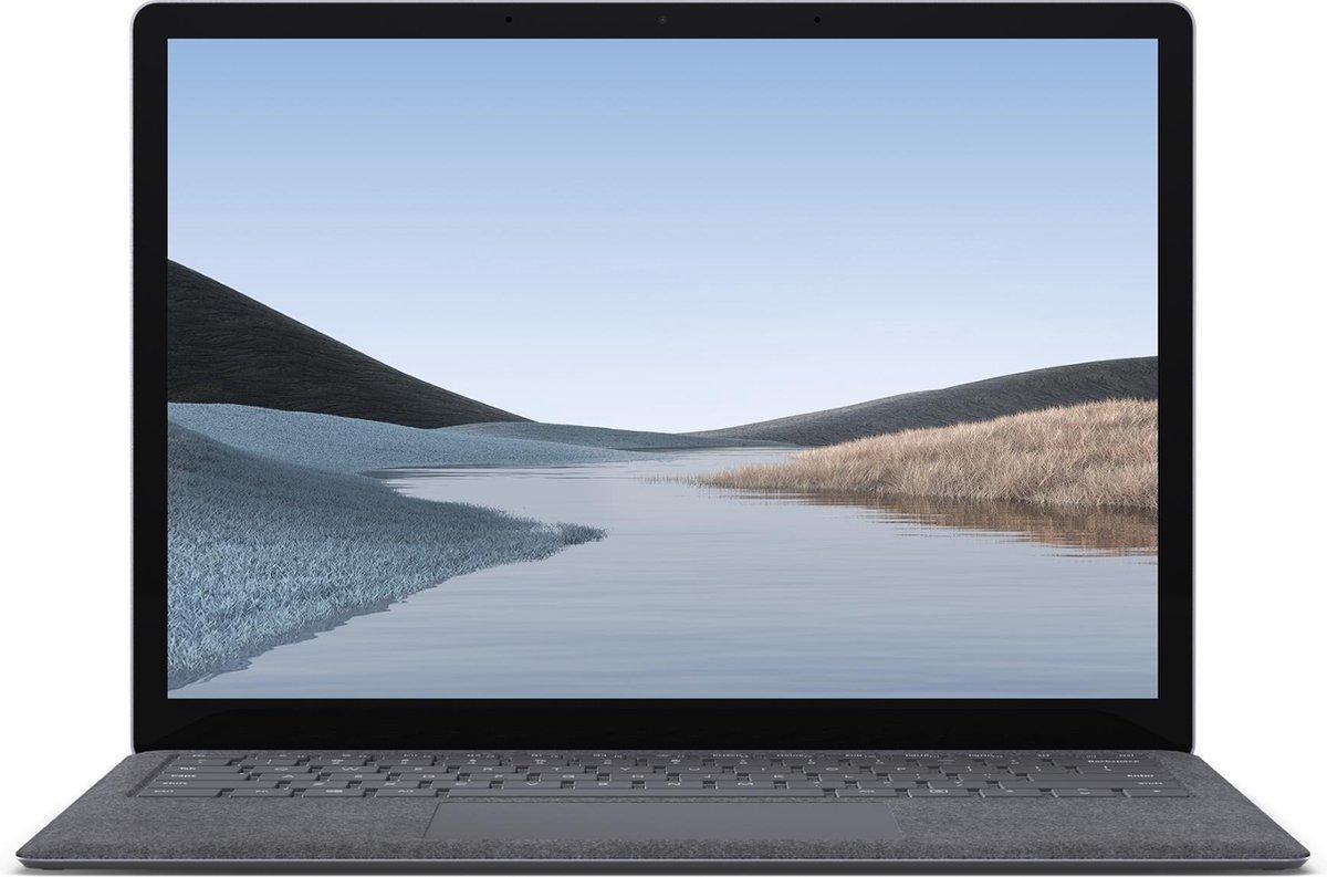 "Microsoft Surface Laptop 3 Notebook 34,3 cm (13.5"") 2256 x 1504 Pixels Touchscreen Intel® 10de generatie Core™ i5 8 GB LPDDR4x-SDRAM 256 GB SSD Wi-Fi 6 (802.11ax) Windows 10 Pro Platina"