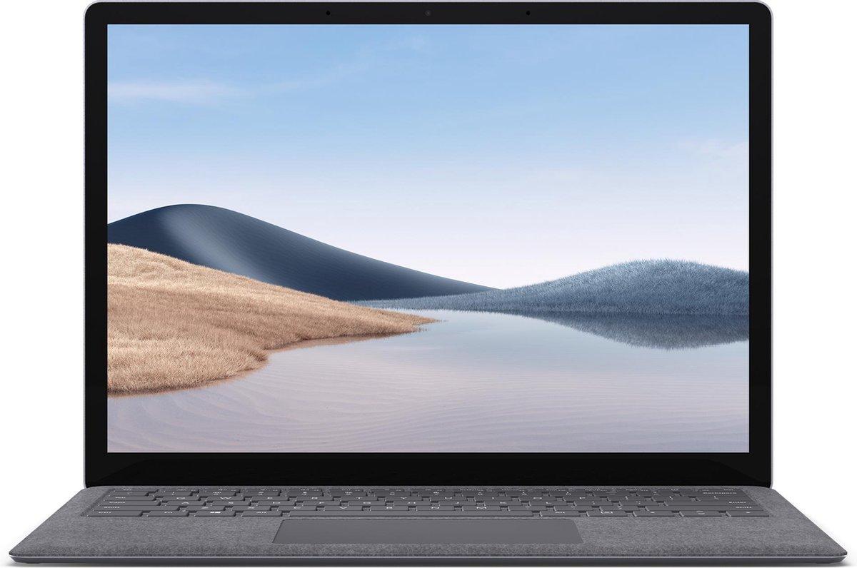 "Microsoft Surface Laptop 4 LPDDR4x-SDRAM Notebook 34,3 cm (13.5"") 2256 x 1504 Pixels Touchscreen AMD Ryzen 5 4th Gen 8 GB 256 GB SSD Wi-Fi 6 (802.11ax) Windows 10 Pro Platina"