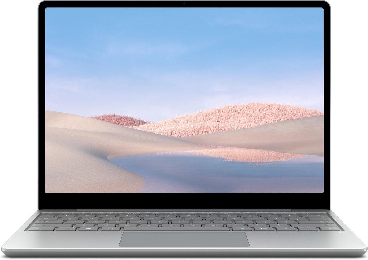 "Microsoft Surface Laptop Go Notebook 31,6 cm (12.4"") 1536 x 1024 Pixels Touchscreen Intel® 10de generatie Core™ i5 8 GB LPDDR4x-SDRAM 256 GB SSD Wi-Fi 6 (802.11ax) Windows 10 Home S Platina"