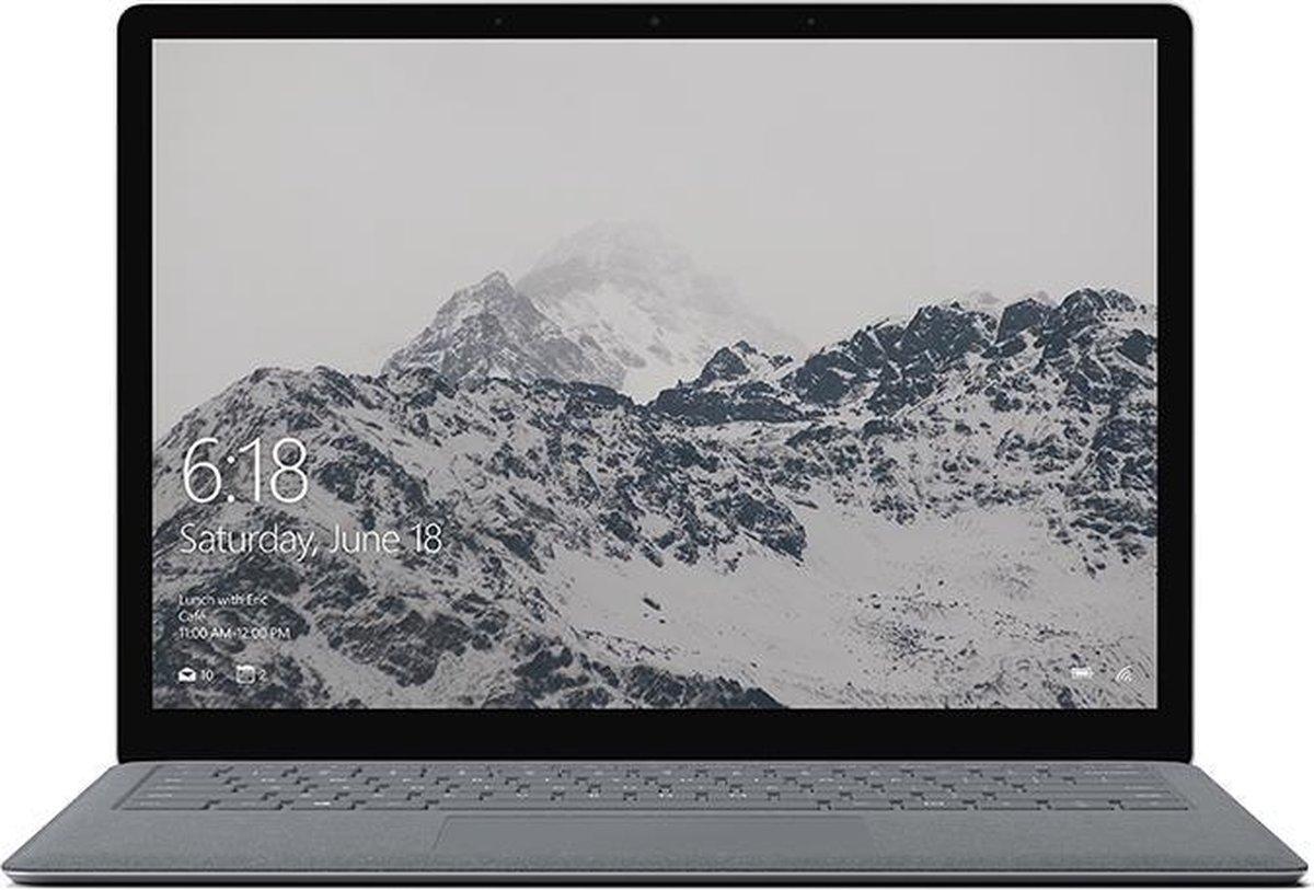 "Microsoft Surface Laptop Notebook Platina 34,3 cm (13.5"") 2256 x 1504 Pixels Touchscreen Zevende generatie Intel® Core™ i7 LPDDR3-SDRAM SSD Wi-Fi 5 (802.11ac) Windows 10 Pro"