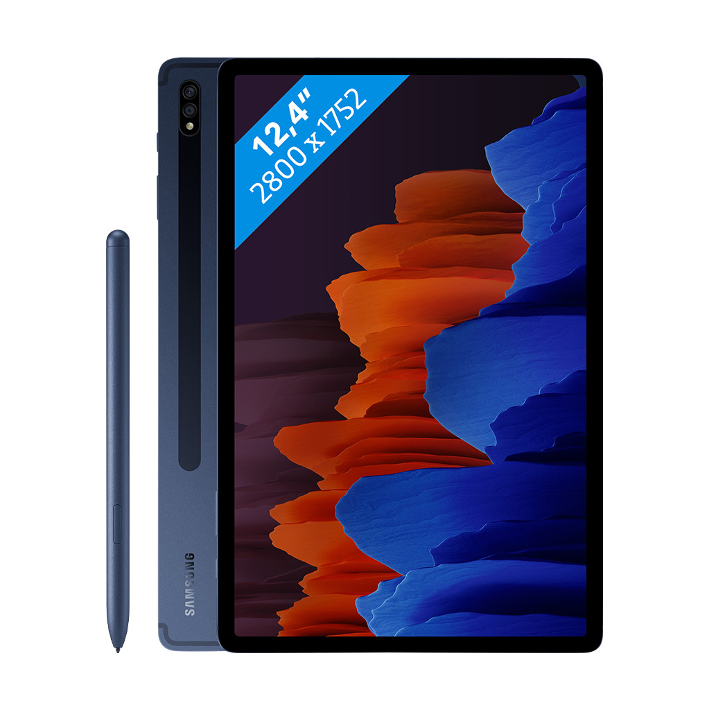 Samsung Galaxy Tab S7 Plus 128GB Wifi + 5G Blauw