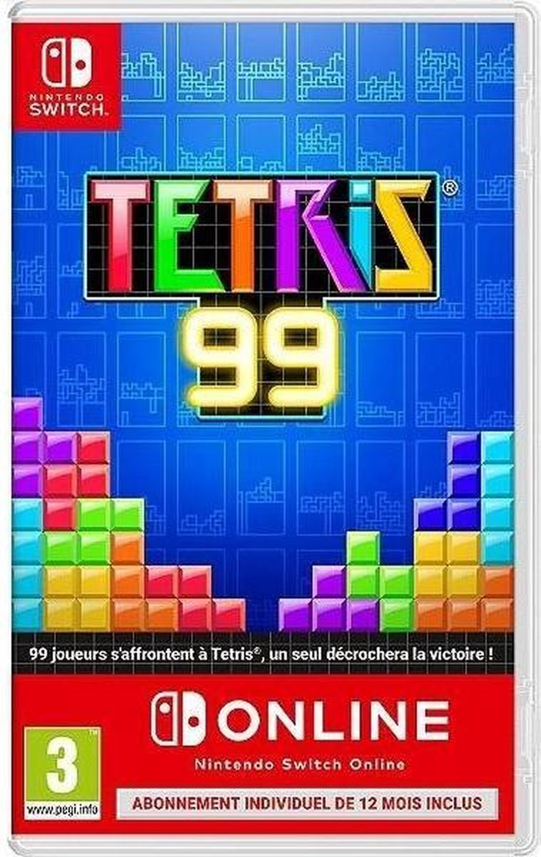 Tetris 99 + Abonnement 12 maand Nintendo Online - Nintendo Switch