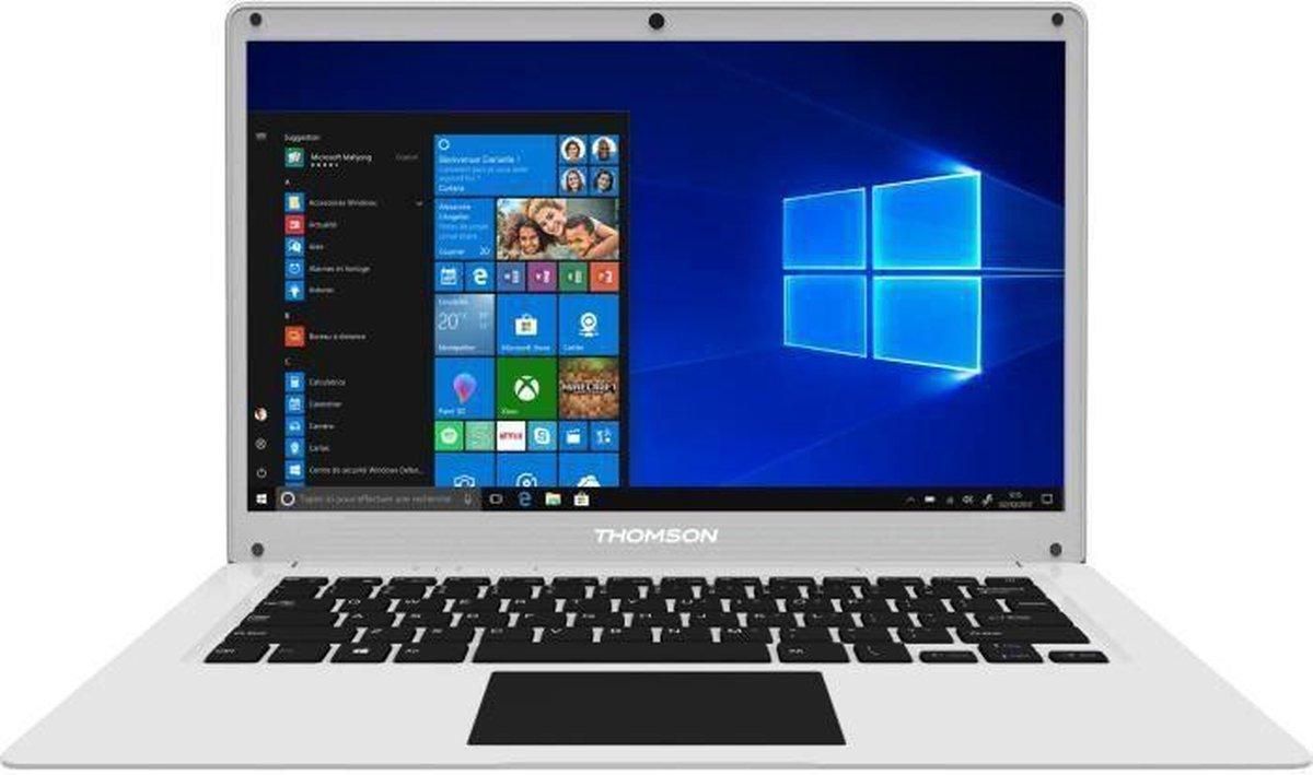 Ultrabook-pc - THOMSON NEO14 - 14.1 HD - Intel Celeron ™ - 4 GB RAM - 64 GB SSD-opslag - Windows 10 S - AZERTY