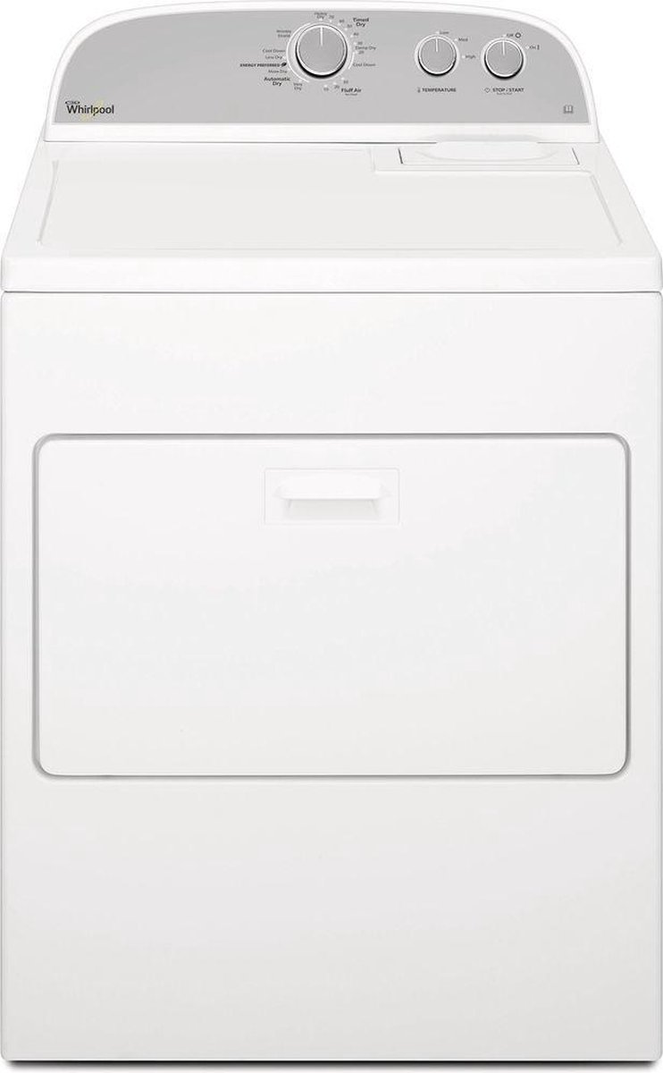 Whirlpool 3LWED4830FW - Condensdroger