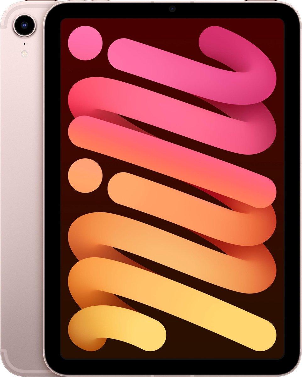 iPad mini (2021) - 8.3 inch - WiFi + 5G - 64GB - Roze