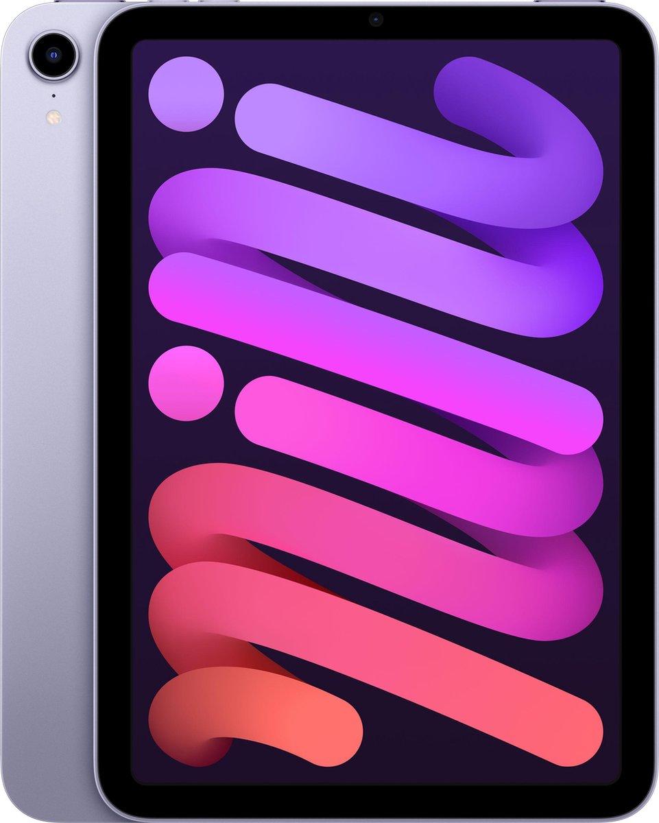 iPad mini (2021) - 8.3 inch - WiFi - 64GB - Paars