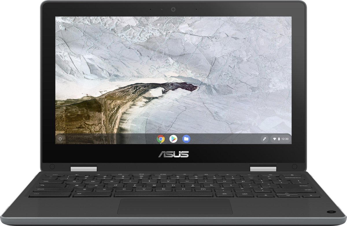 "ASUS Chromebook Flip C214MA-BU0310-BE LPDDR4-SDRAM 29,5 cm (11.6"") 1366 x 768 Pixels Touchscreen Intel® Celeron® N 4 GB 64 GB eMMC Wi-Fi 5 (802.11ac) Chrome OS Grijs"