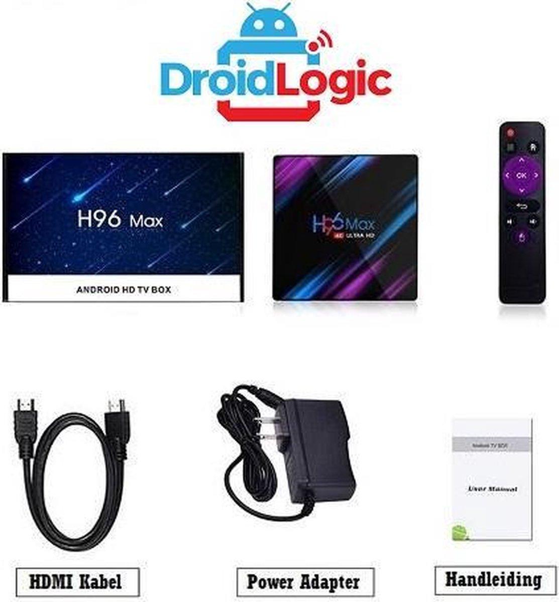 Android tv box Android / Mini Pc / Tv Box Android 4K / Mediaplayer voor Tv / Kodi Tv Box 2020 32GB