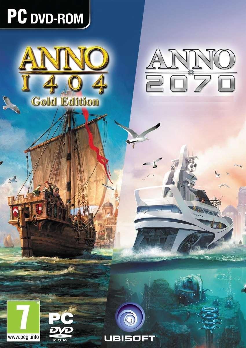 Anno 1404 Gold + Anno 2070 - Anno Double Pack Edition - PC