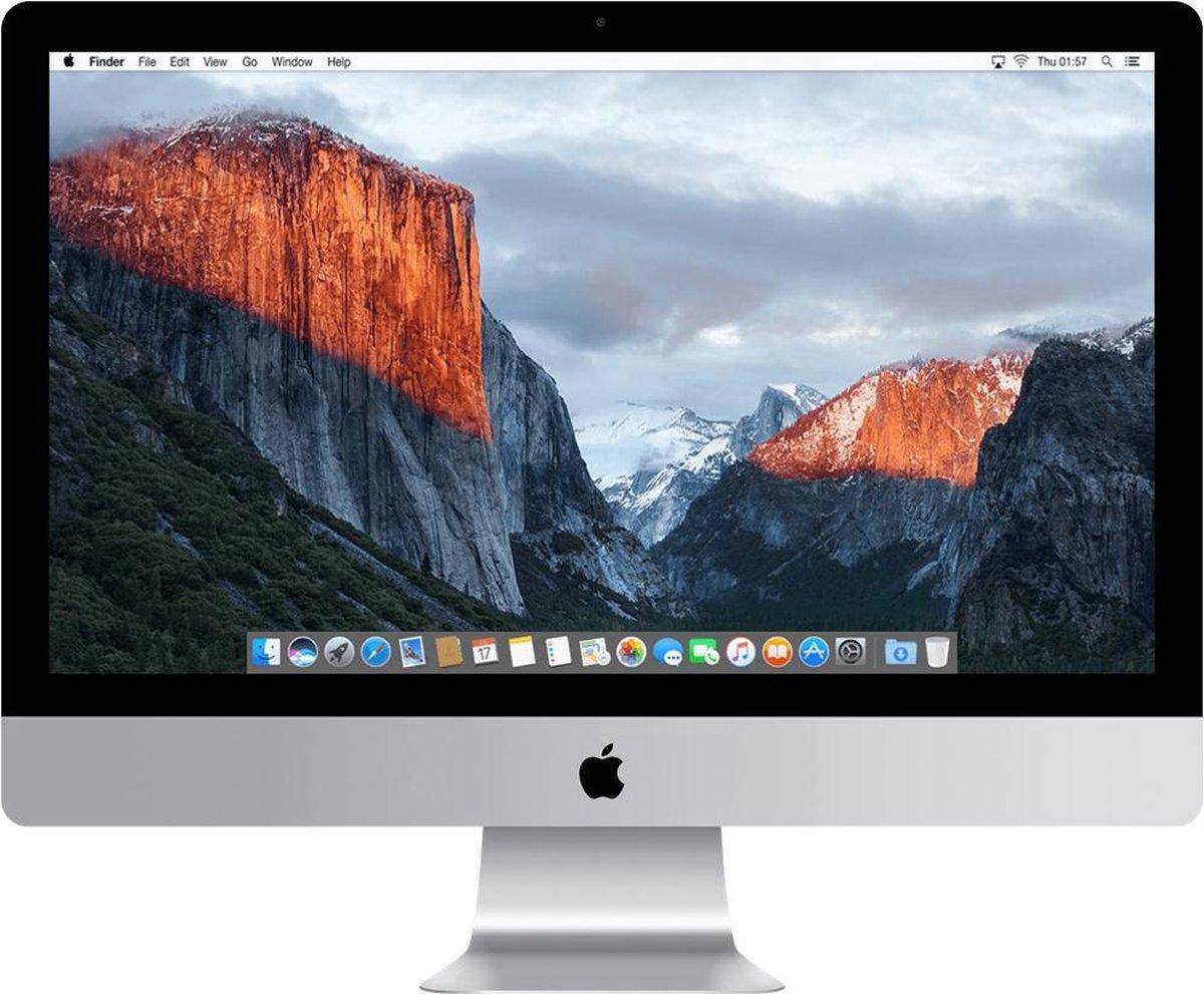 Apple iMac 21.5 inch (2015) - 8GB - 1TB - 2.8GHz quad-core Intel i5 - Refurbished door Leapp - B Grade