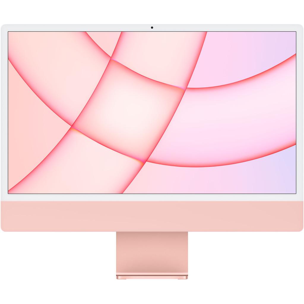 """Apple iMac 24"""" (2021) MJVA3FN/A 8GB/256GB 7 core GPU Roze AZERTY"""