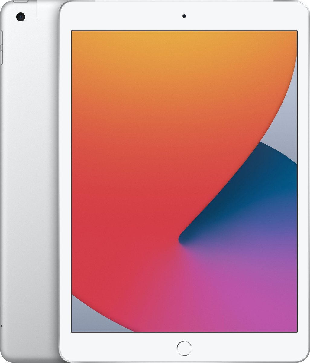 Apple iPad (2020) - 10.2 inch - WiFi + 4G - 32GB - Zilver