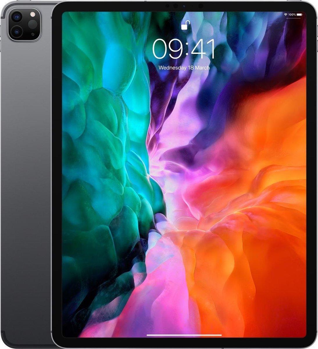 Apple iPad Pro (2020) - 12.9 inch - WiFi + 4G - 128GB - Spacegrijs