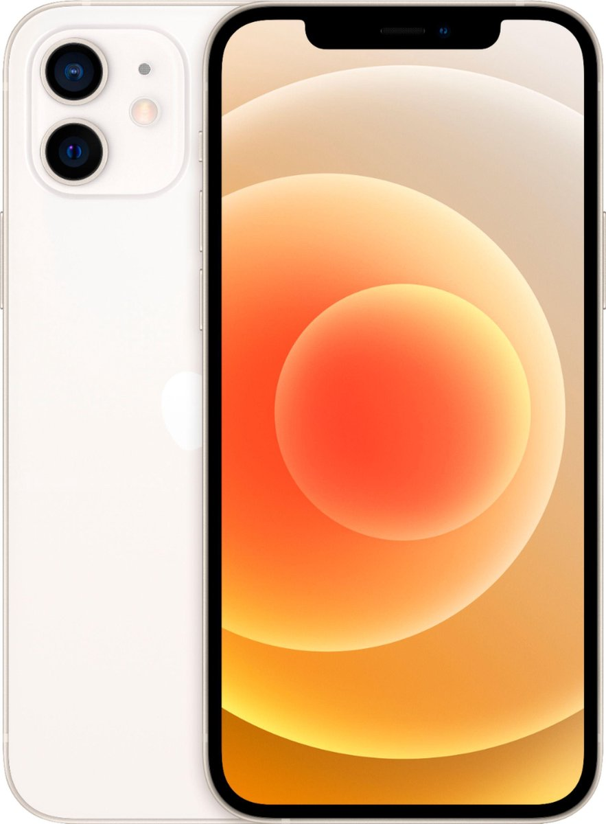 Apple iPhone 12 - Gereviseerd door SUPREME MOBILE - A GRADE - Unlocked - 64GB - Wit