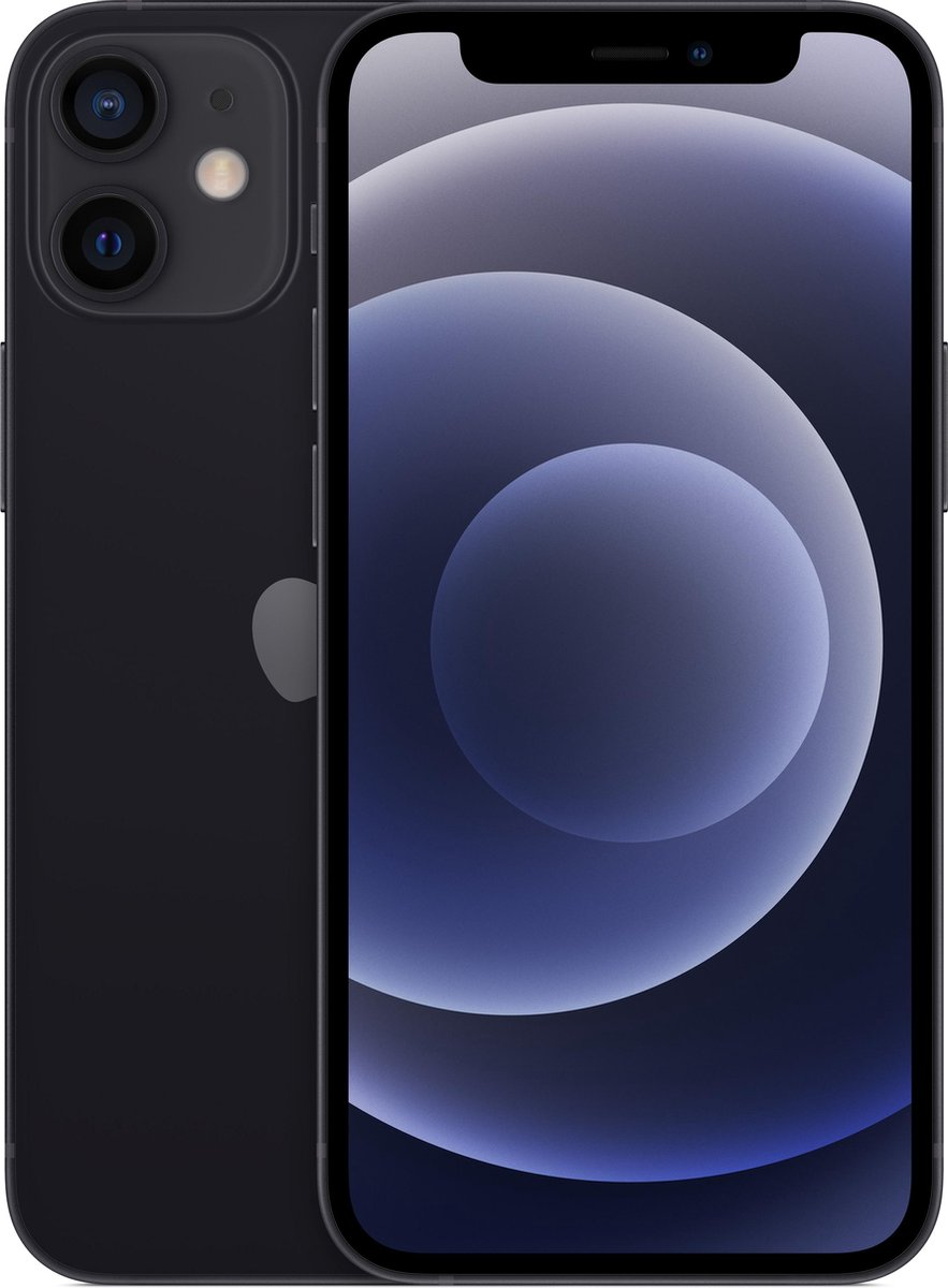 Apple iPhone 12 Mini - 256GB - Zwart