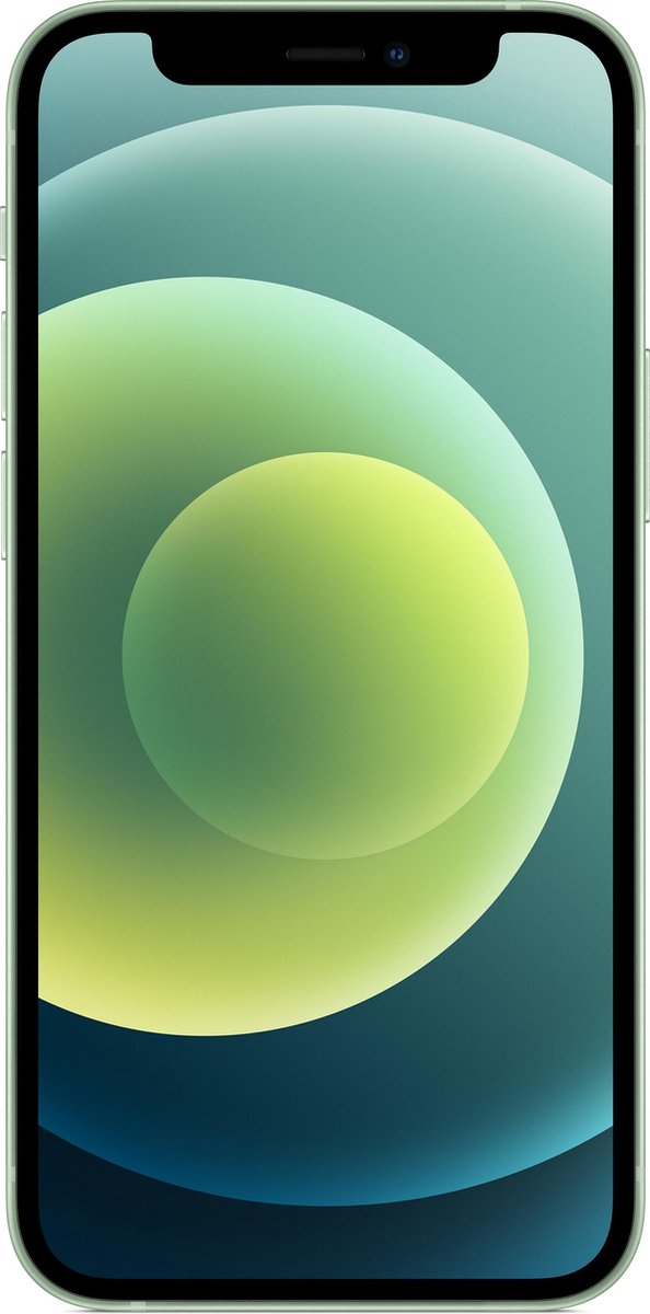 "Apple iPhone 12 mini 13,7 cm (5.4"") Dual SIM iOS 14 5G 128 GB Groen"