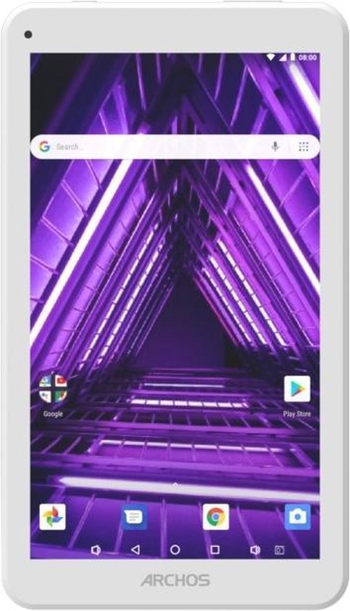 Archos Access 70 3G 17,8 cm (7'') Mediatek 1 GB 16 GB Wi-Fi 4 (802.11n) Wit Android 7.0