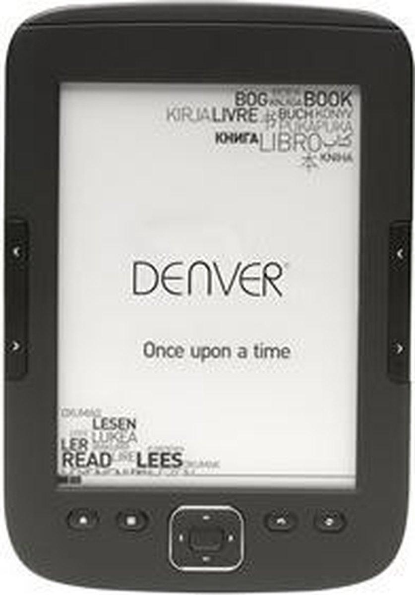 """Denver EBO-610L Ebook reader with 6"""" E-INK panel & front light"""