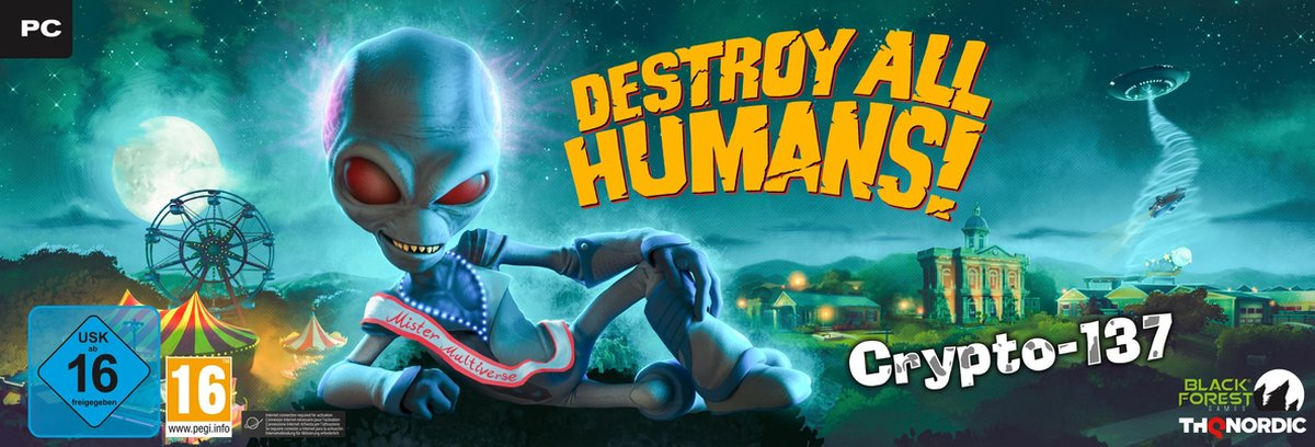 Destroy All Humans - Crypto 137 Edition - PC