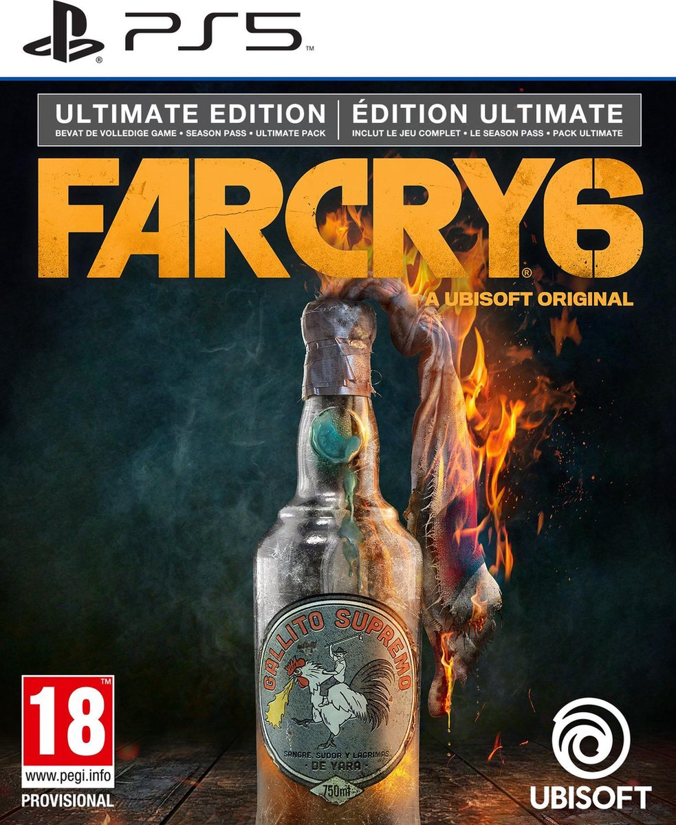 Far Cry 6 - Ultimate Edition - PS5