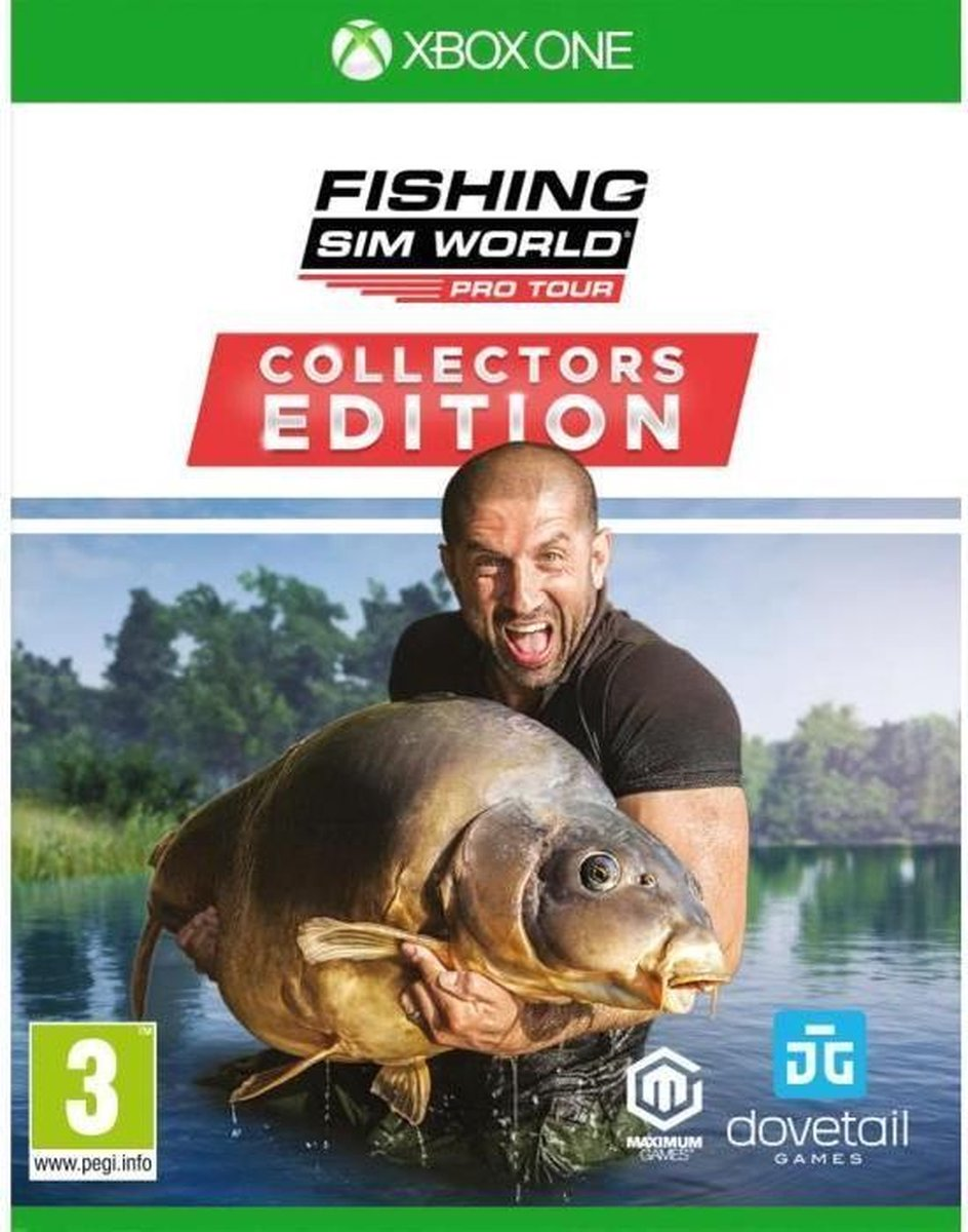 Fishing Sim World Pro Tour Collector's Edition Jeu Xbox One