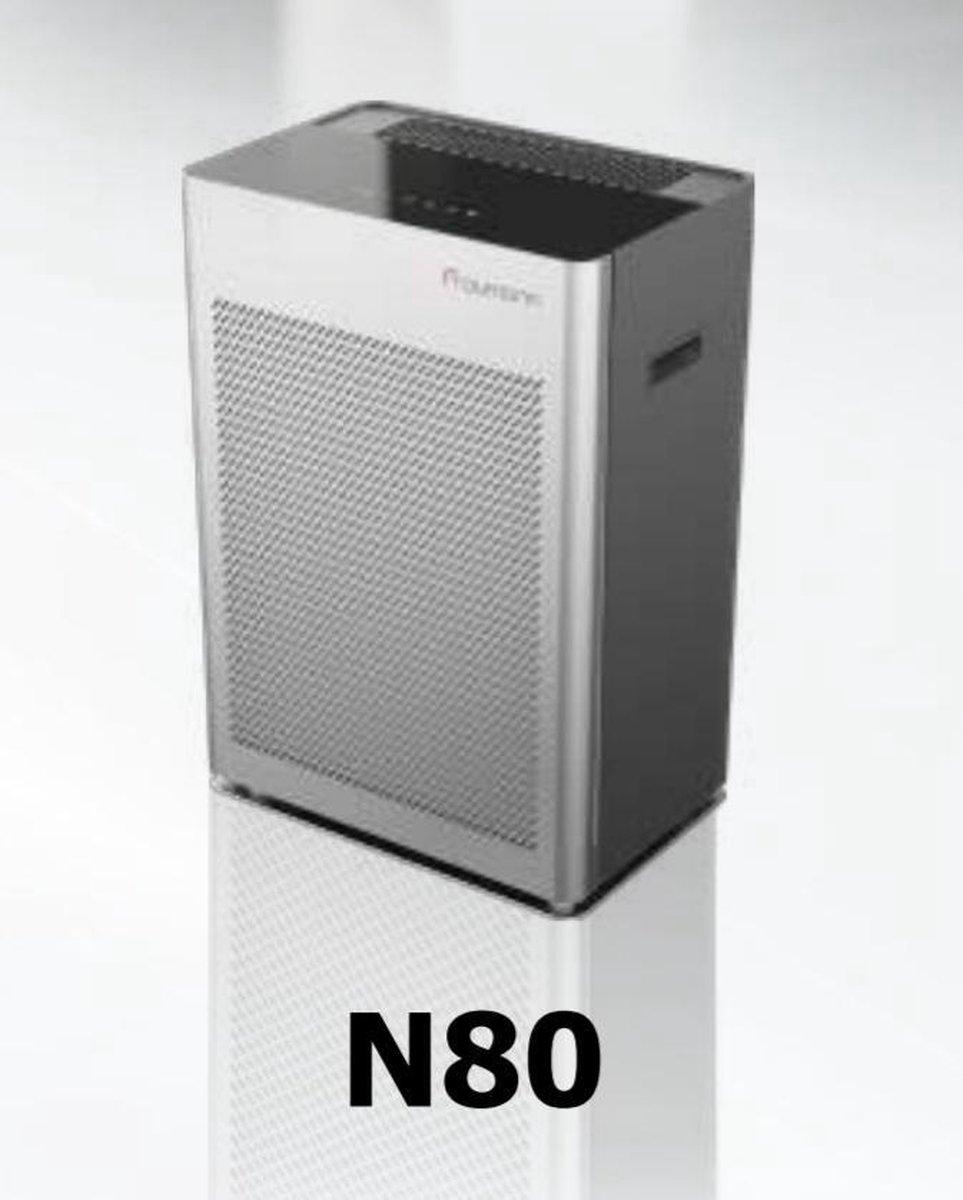 Froumann N80 - Luchtreiniger - HEPA 14 filter - Koolstoffilter