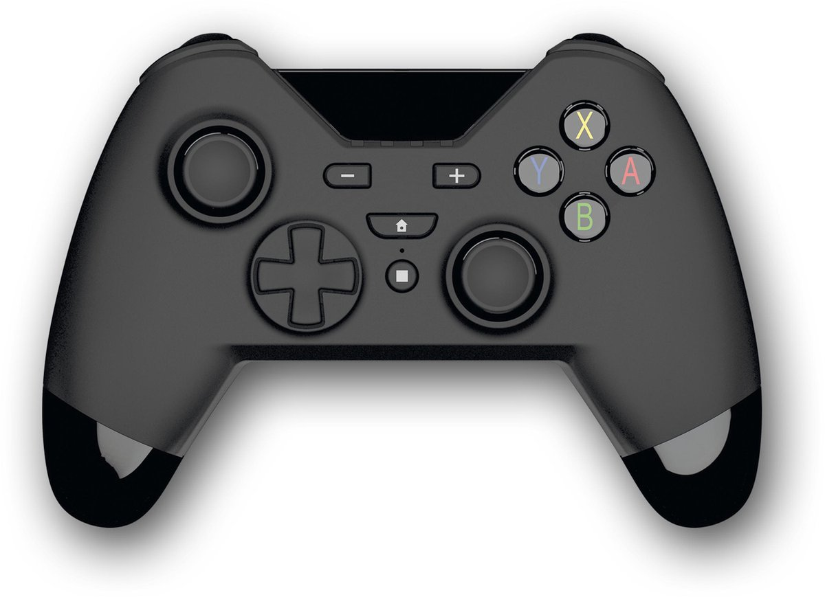 Gioteck - WX4 Draadloze Controller - Bluetooth Gamepad - Beweging & trillingsondersteuning - Ergonomisch - Zwart - Nintendo Switch/Switch Pro/PS3/PC