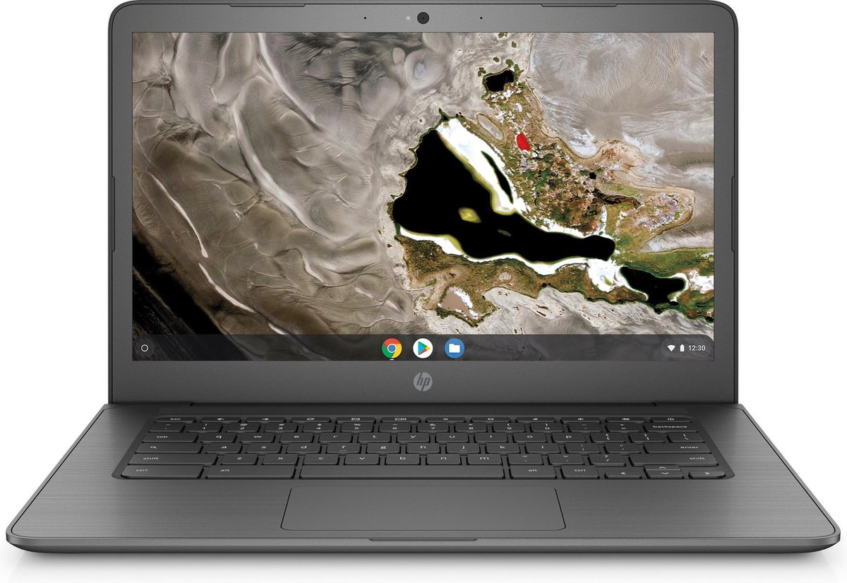 "HP Chromebook 14A G5 DDR4-SDRAM 35,6 cm (14"") 1920 x 1080 Pixels Touchscreen 7th Generation AMD A4-Series APUs 4 GB 32 GB eMMC Wi-Fi 5 (802.11ac) Chrome OS Grijs"