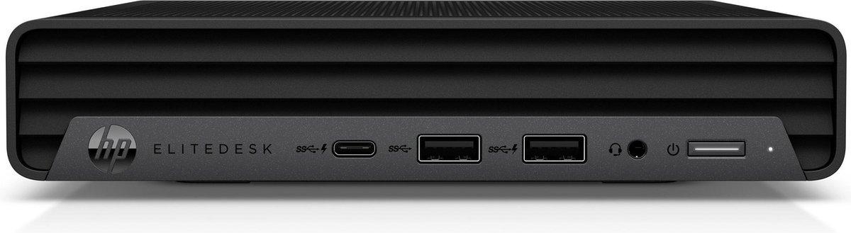 HP EliteDesk 800 G6 DDR4-SDRAM i7-10700 mini PC Intel® 10de generatie Core™ i7 16 GB 512 GB SSD Windows 10 Pro Zwart