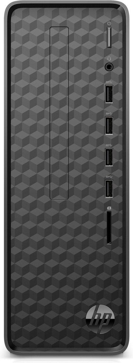 HP Slim S01-pF1001nd - Intel Core i5 (10th gen) - 8 GB - 512 GB SSD - Mini Tower - Zwart