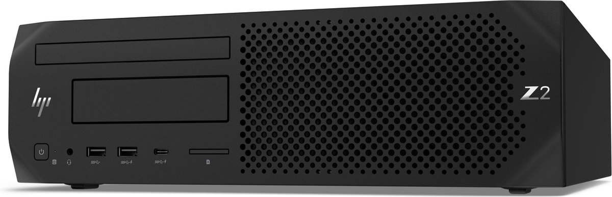 HP Z2 SFF G4 DDR4-SDRAM i7-8700 Intel® 8de generatie Core™ i7 16 GB 256 GB SSD Windows 10 Pro Workstation Zwart