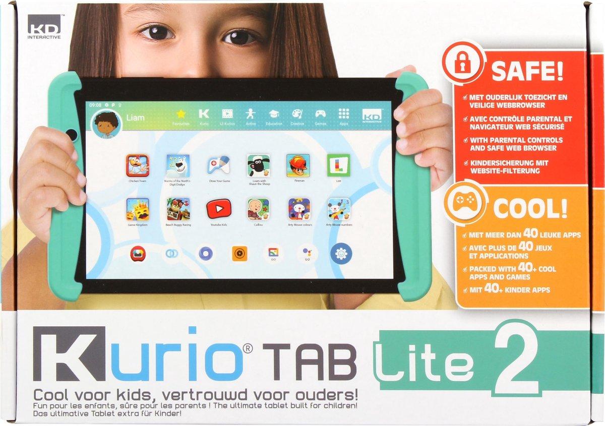 Kurio Tab Lite 2 (2021) - 7 inch - Kindertablet - 16GB - Groen
