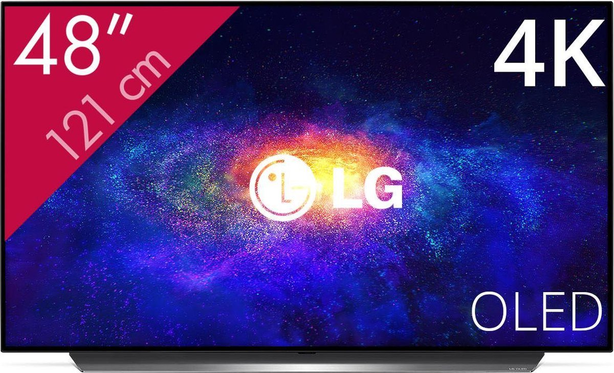 LG CX OLED48CX6LB - 48 inch - 4K OLED - 2020