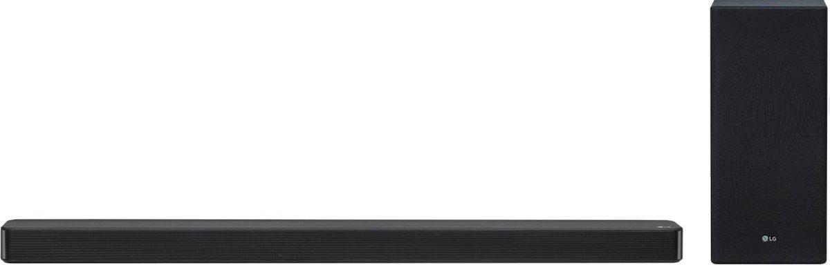 LG SL6YF - Soundbar met subwoofer - Zwart
