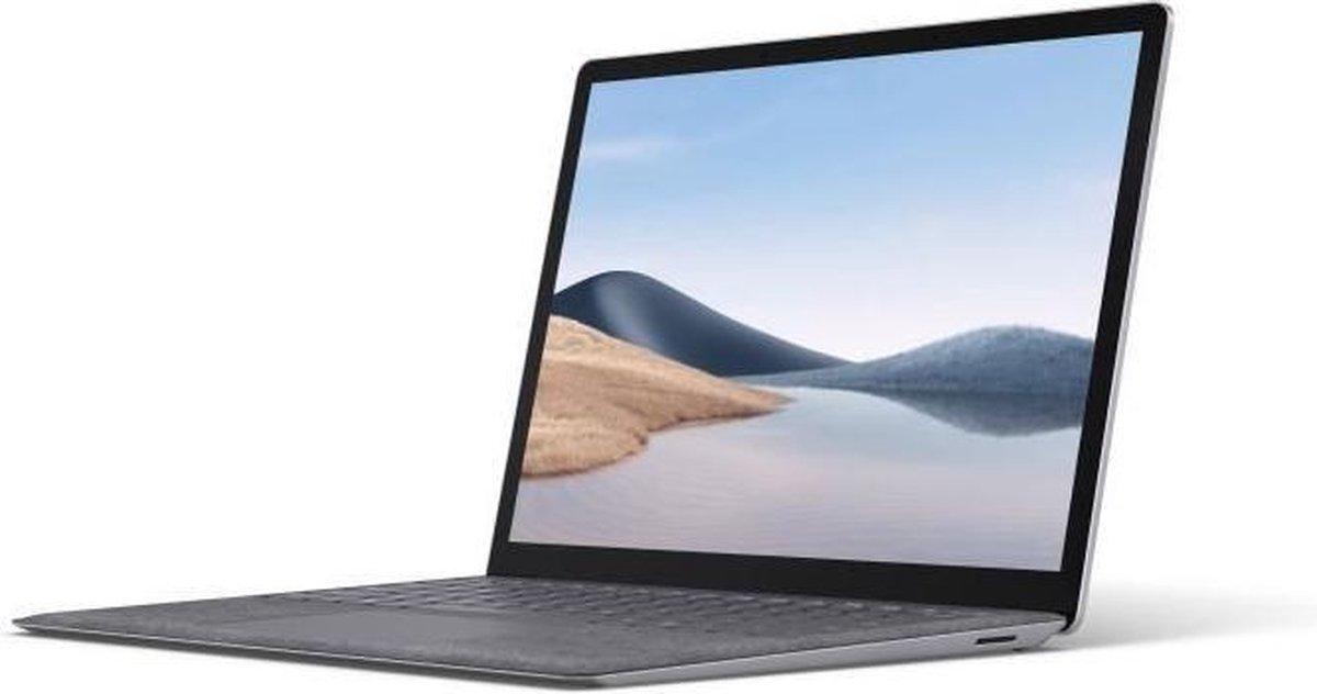 Laptop PC - MICROSOFT Surface Laptop 4 - 13.5 - Intel Core i5 - 8GB RAM - 512GB SSD-opslag - Windows 10 - Platina - AZERTY