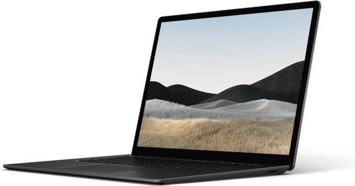 Laptop PC - MICROSOFT Surface Laptop 4 - 15 - AMD Ryzen 7se - RAM 8GB - Opslag 512GB SSD - Windows 10 - Zwart - AZERTY
