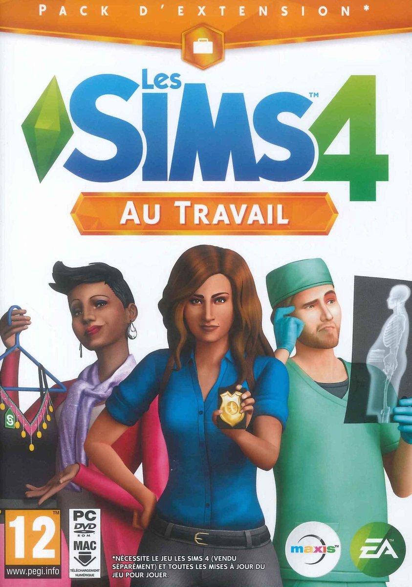 Les Sims 4 : Au travail - PC/Mac Basic + Add-on (Frans)