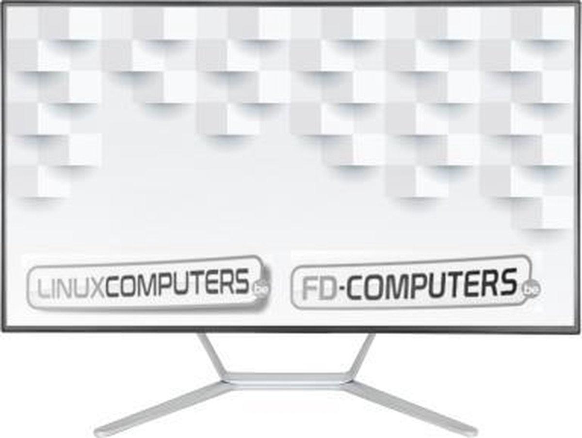 Linux 24 inch ALL-IN-ONE PC| Intel i5-10400 | 8 Gb ram | 512 Gb SSD | Windows 10 alternatief, Linux Mint, Ubuntu, Debian