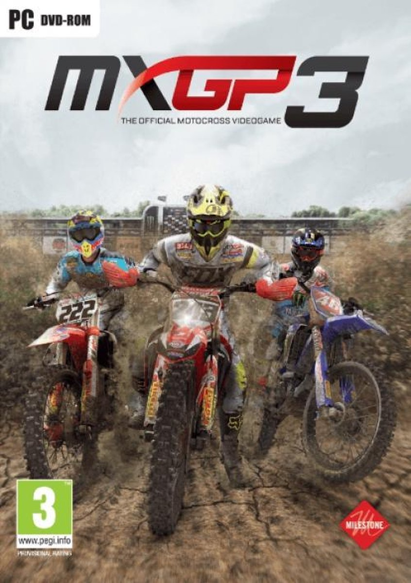 MXGP 3 - The Official Motocross Videogame /PC