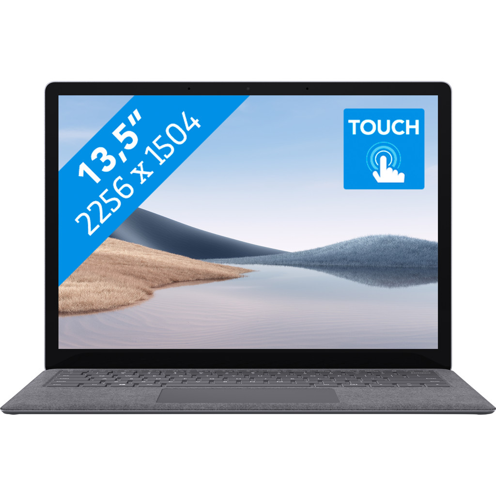 "Microsoft Surface Laptop 4 13.5"" - R5se - 8GB - 256GB - Platinum Azerty"
