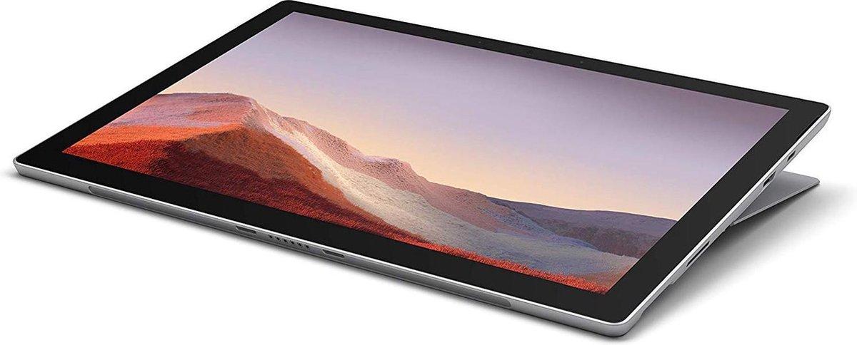 "Microsoft Surface Pro 7 31,2 cm (12.3"") Intel® 10de generatie Core™ i5 8 GB 128 GB Wi-Fi 6 (802.11ax) Platina Windows 10 Home"